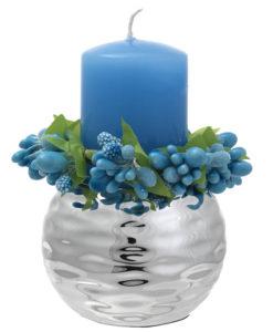 Porta candela celeste -NonSoloCerimonie.it
