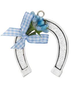 Ferro cavallo azzurro piccolo - NonSoloCerimonie.it