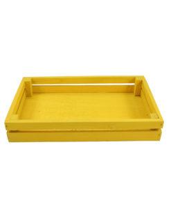 Cassetta legno gialla 1_1 - NonSoloCerimonie.it