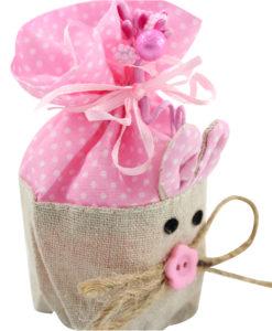 Bomboniera coniglietto rosa 4 - NonSoloCerimonie.it
