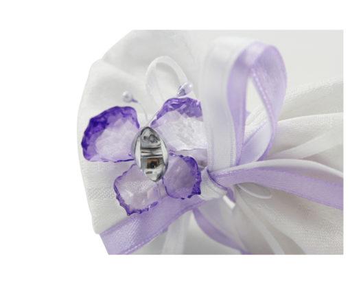 Sacchetto bianco farfalla lilla 4 - NonSoloCerimonie-bianco-farfalla-lilla-4