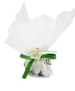 Vasi fioriti 3 - Orsetto celeste 3 - NonSoloCerimonie.it