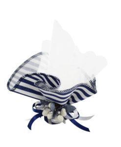 Fazzoletto bianco blue 1 - NonSoloCerimonie.it