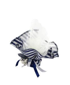Fazzoletto bianco blue 2 - NonSoloCerimonie.it