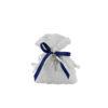 Sacchetto bianco blu croce 1 - NonSoloCerimonie.it