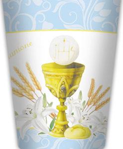 Bicchieri comunione azzurro 2 - NonSoloCerimonie.it