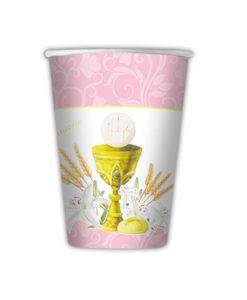 Bicchieri comunione rosa 1 - NonSoloCerimonie.it
