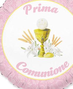 Palloncino comunione rosa 2 - NonSoloCerimonie.it