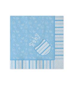 Tovagliolo baby azzurri 1 - NonSoloCerimonie.it