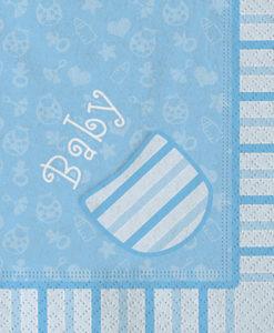Tovagliolo baby azzurri 2 - NonSoloCerimonie.it