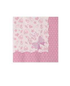 Tovagliolo baby rosa 1 - NonSoloCerimonie.it