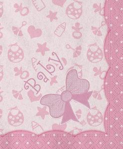 Tovagliolo baby rosa 2 - NonSoloCerimonie.it