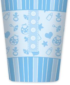 Bicchieri baby azzurro 2 - NonSoloCerimonie.it