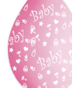 Palloncini baby Rosa 2 - NonSoloCerimonie.it