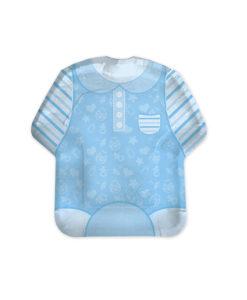 Piatto veste azzurro 1 - NonSoloCerimonie.it