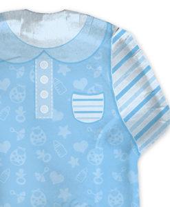 Piatto veste azzurro 2 - NonSoloCerimonie.it