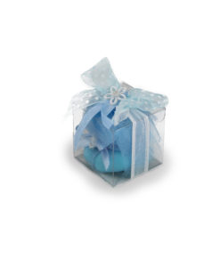Bomboniera cubo azzurro 1 - NonSoloCerimonie.it