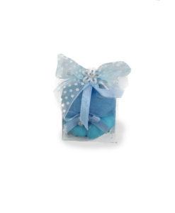 Bomboniera cubo azzurro - NonSoloCerimonie.it
