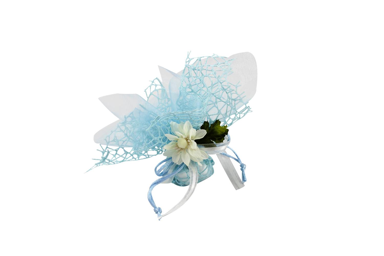 Bomboniera Matrimonio Azzurro : Bomboniera chiama angeli mikael azzurro nonsolocerimonie