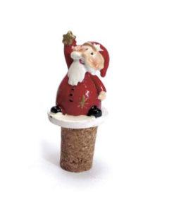 Babbo Natale tappo bottiglia - NonSoloCerimonie.it