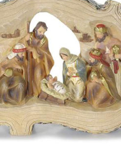 Presepe-tronco grande 1 - NonSoloCerimonie.it