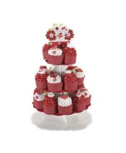 Torta Capecupe rossa - NonSoloCerimonie.it