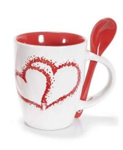 Tazza cuore rossa - NonSoloCerimonie.it