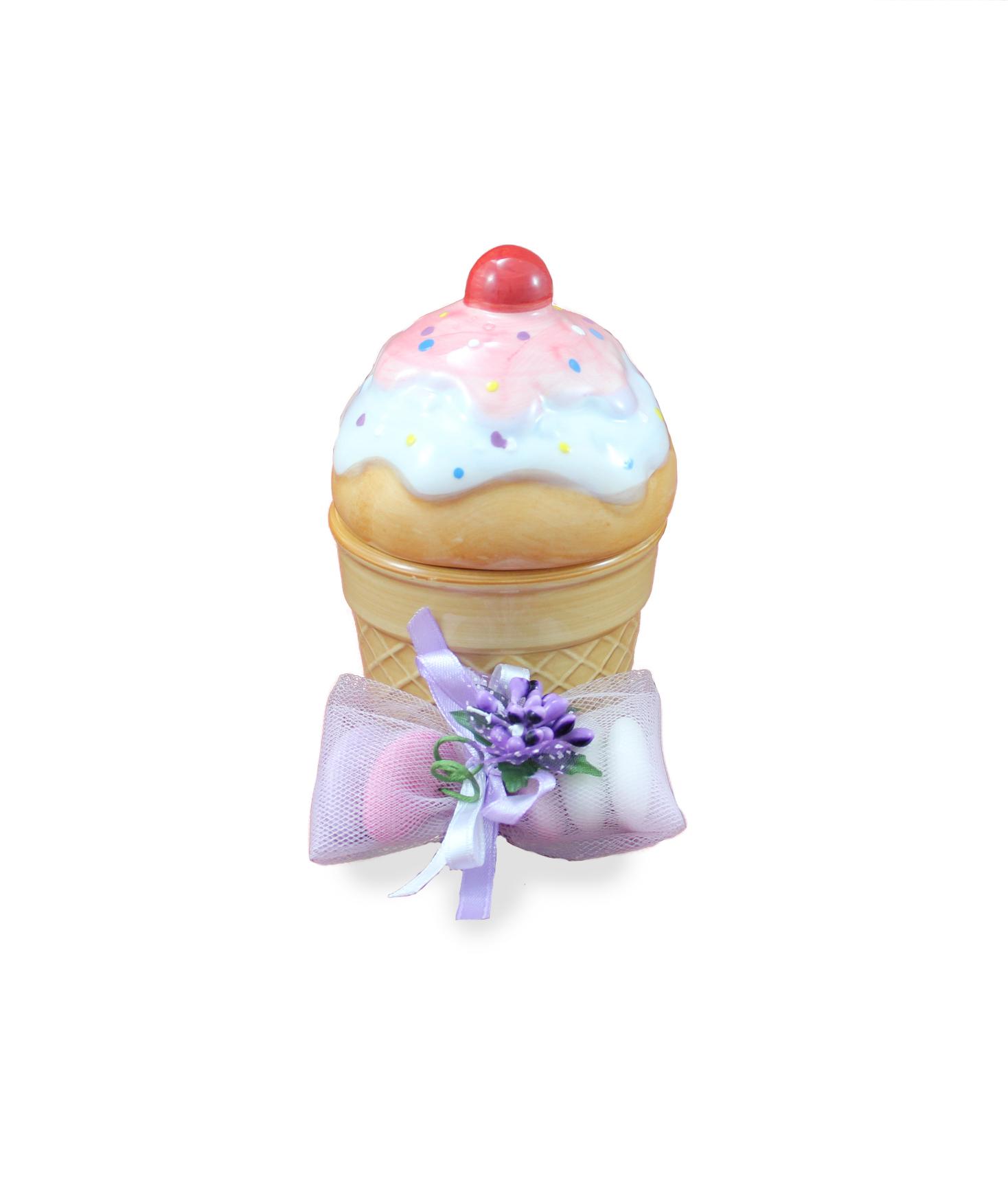 Matrimonio Tema Gelato : Bomboniera coppa gelato nonsolocerimonie