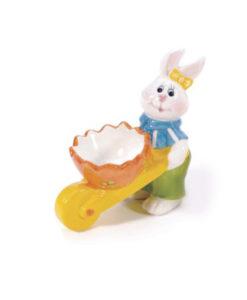 Coniglio porta uovo Pasquale femmina maschio - NonSoloCerimonie.it