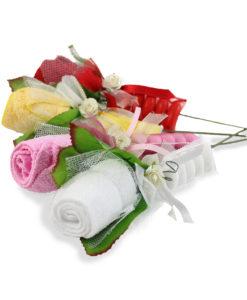 Bomboniera asciugamano rosa - NonSoloCerimonie.it