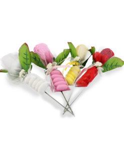 Bomboniera asciugamano rosa 4 - NonSoloCerimonie.it