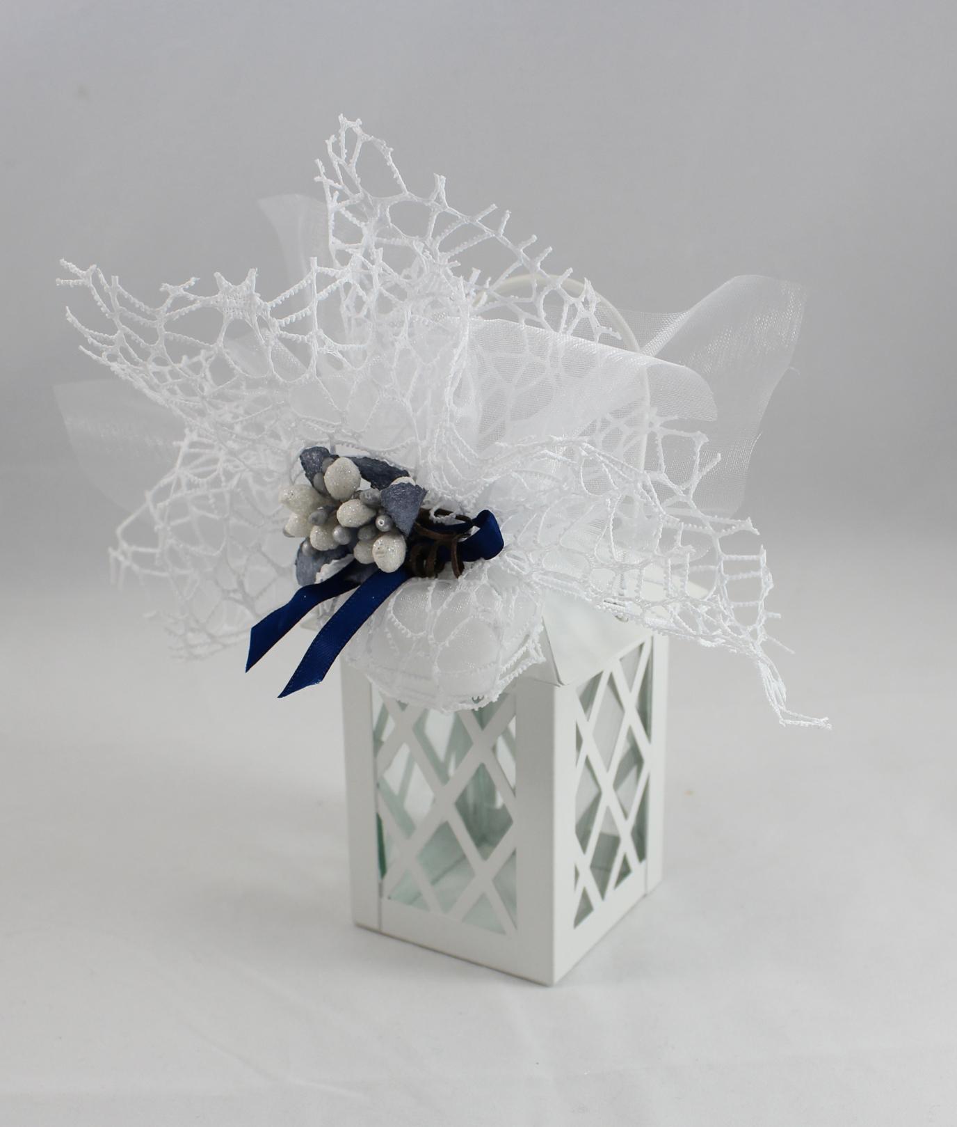Bomboniera Matrimonio Natalizio : Bomboniera lanterna bianca nonsolocerimonie