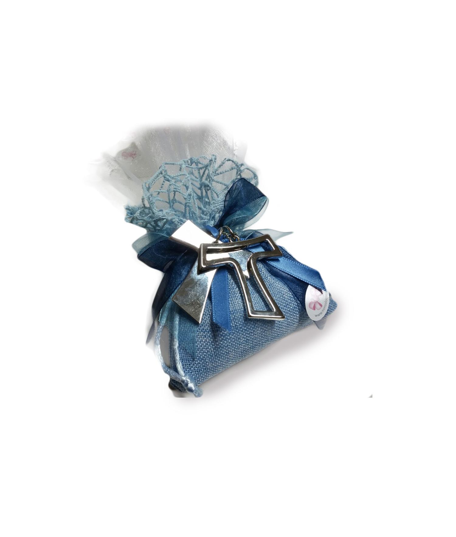 Bomboniera Matrimonio Azzurro : Bomboniera portachiavi acciaio corallo nonsolocerimonie.it