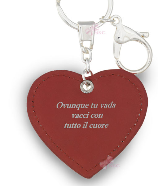 Portachiavi Cuore Albero della Vita Bagutta 2 - NonSoloCerimonie.it