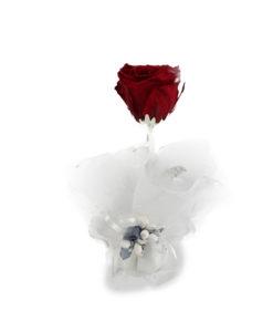 Bomboniera Rosa Stabilizzata Rossa 16 1 - NonSoloCerimonie.it