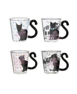 Tazza vetro gatto 4 - NonSoloCerimonie.it