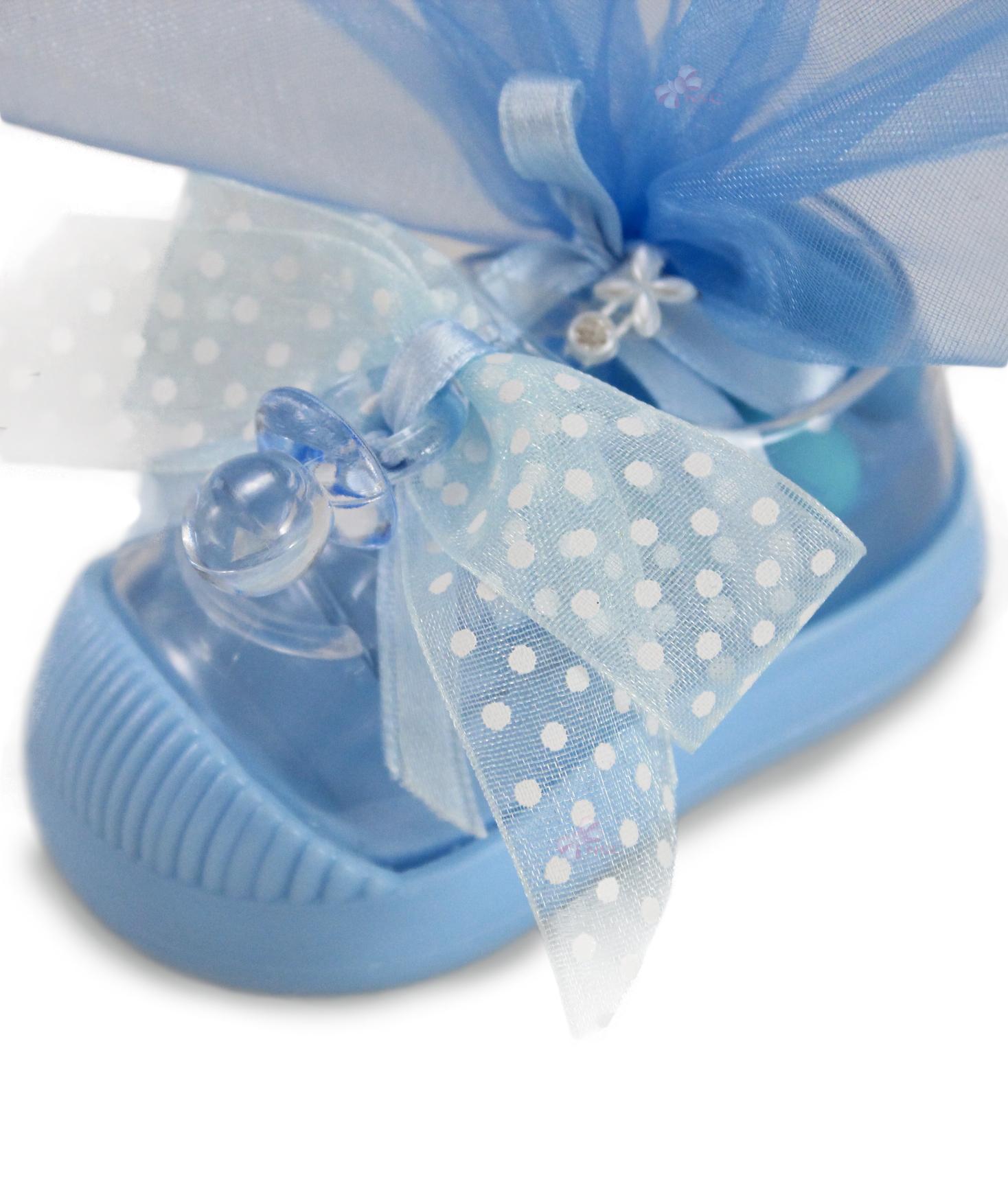 Bomboniera Matrimonio Azzurro : Bomboniera scarpa azzurro nonsolocerimonie