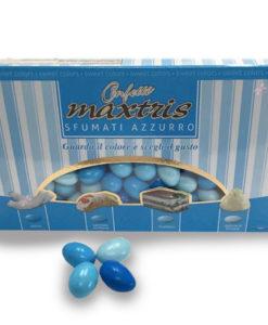 Confetti Cioccomandorla Maxtris Sfumati Azzurro 1 _ NonSoloCerimonie.it
