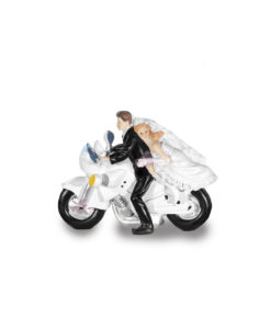 Cake Topper Sposi In Motore - NonSoloCerimonie.it