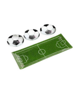Set Coppette Pallone Vetro - NonSoloCerimonie.it
