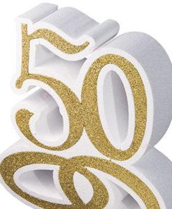 50 Anni Scritta Polistirolo 1 - NonSoloCerimonie.it