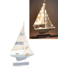 Barca Vela Decorativa con Luci - NonSoloCerimonie.it