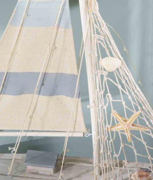 Barca Vela Decorativa con Luci Grande 3 - NonSoloCerimonie.it