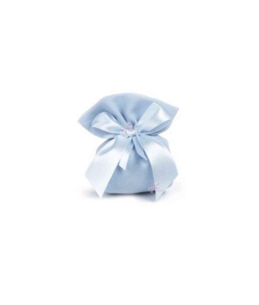 Bomboniera Sacchetto Baby Azzurra 1 - NonSoloCerimonie.it