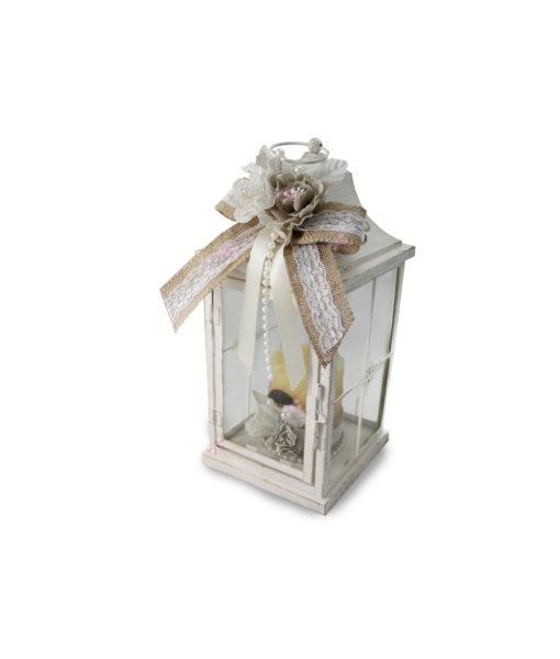 Lanterna Shabby Chic Juta - NonSoloCerimonie.it