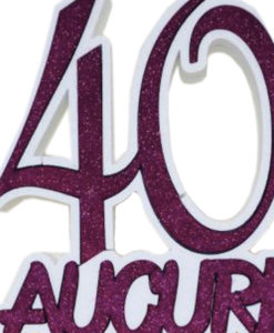 40 Anni Scritta Polistirolo 1 - NonSoloCerimonie.it