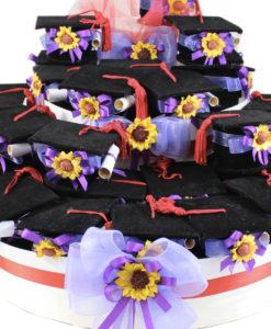 Torta Bomboniera Tocco Pergamena 1 - NonSoloCerimonie.it