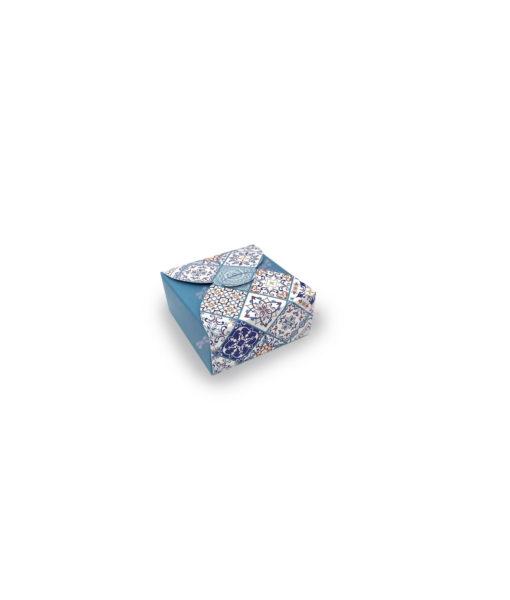 Bomboniera Scatola Disegno Maioliche Tiffany - NonSoloCerimonie.it