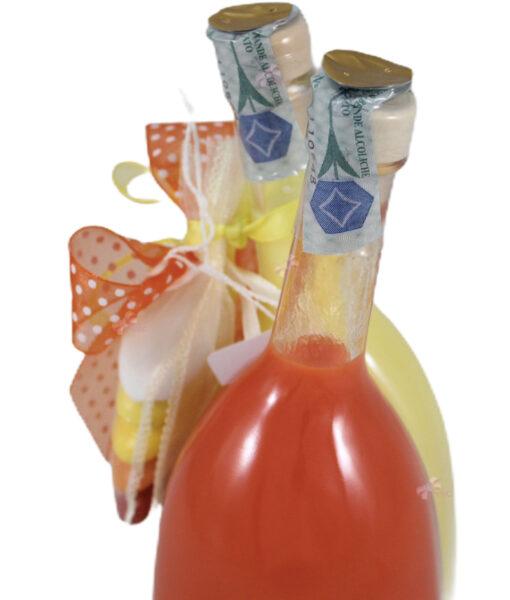 Bomboniera Bottiglia Liquore Doppio Duetto 3 - NonSoloCerimonie.it