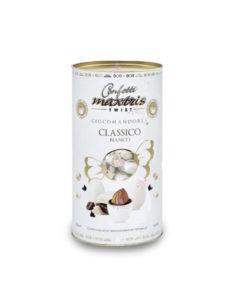Bomboniera Cilindro Twist Centrino Maxtris Bianco - NonSoloCerimonie.it
